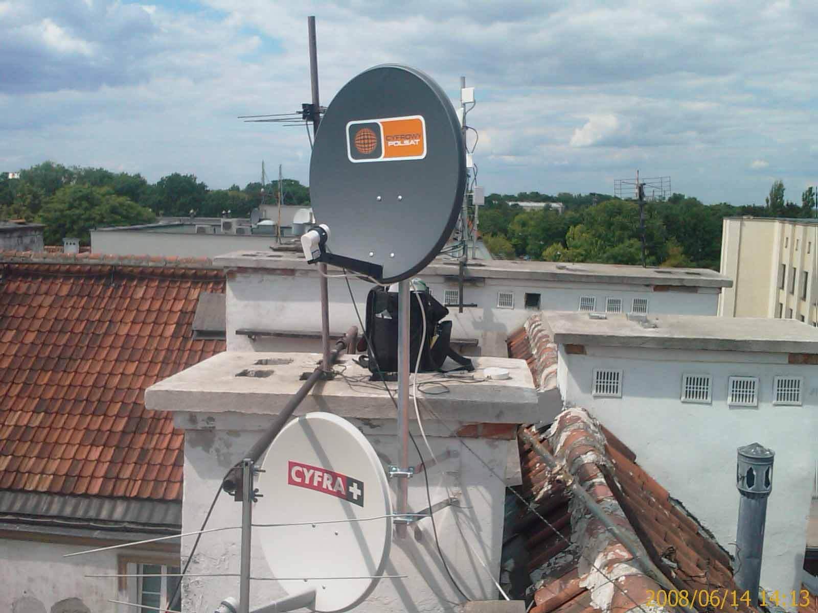 motaż anteny satelitarnej klienta Hounslow
